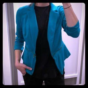 Missimo zippered blazer jacket